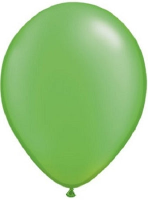 11 inch Pearl Lime Green Helium Balloon