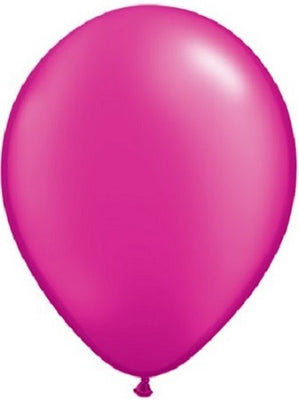 11 inch Pearl Magenta Helium Balloon
