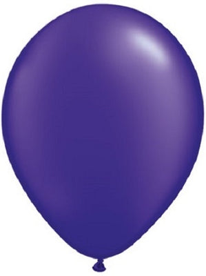 11 inch Pearl Quartz Purple Helium Balloon