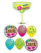 Luau Tropical Drink Welcome to Paradise Balloon Bouquet
