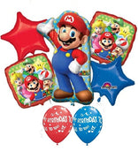Mario Brothers Birthday Balloon Bouquet 2