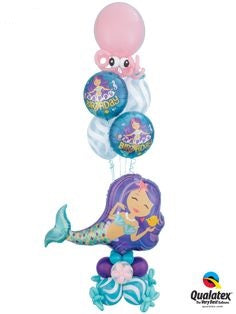 Mermaid Birthday Balloon Bouquet 13