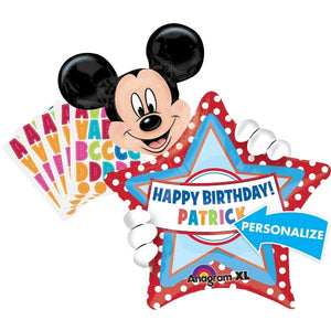 Mickey Mouse Personalized Balloon