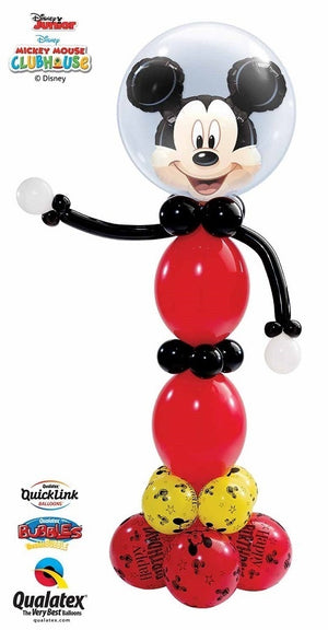 Mickey Mouse Double Bubble Balloon Stand Up