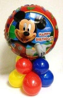 Mickey Mouse Happy Birthday Balloon Centerpiece 3