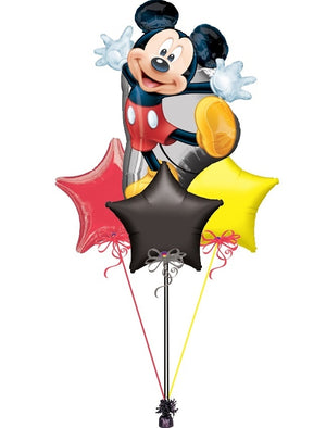 Mickey Mouse Stars Balloon Bouquet