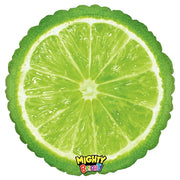 Mighty Bright Lime 21 inch Shape Helium Balloons