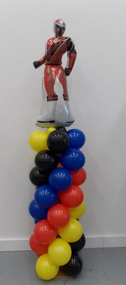 Mighty Morphine Power Rangers Balloon Column