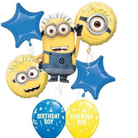 Minion Despicable Me Birthday Boy Balloon Bouquet