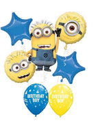 Minions Despicable Me Birthday Boy Balloon Bouquet
