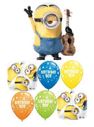 Minions Despicable Me Birthday Stuart Balloon Bouquet