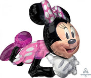 Minnie Mouse Sitting Airwalker Balloons