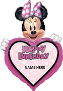 Minnie Mouse Forever 34 inch Personalized Balloon
