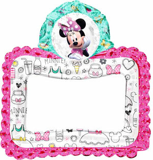 Minnie Mouse Selfie Photo Frame Air Balloon
