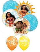 Moana Birthday Balloon Bouquet 3