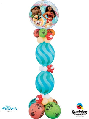 Moana Swirls Balloon Stand Up Party Decorations