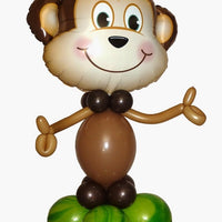 Jungle Monkey Balloon Stand Up 2