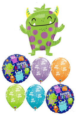 Monsters Happy Birthday Balloon Bouquet