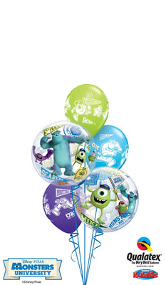 Monster University Inc Bubbles Birthday Balloon Bouquet