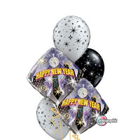 New Year Balloon Bouquet 1