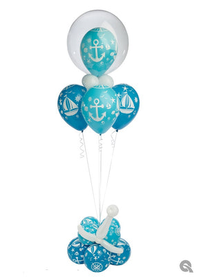 Nautical Balloon Bouquet Stand Up
