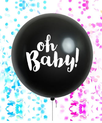 Oh Baby 36 inch Gender Reveal Balloon