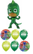 PJ Masks Gekko Birthday Balloon Bouquet 4
