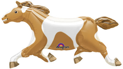 Painted Horse Supershape 41 inch Mylar Foil Balloons