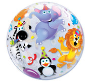Party Animals Bubbles Balloon
