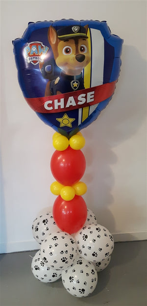 Paw Patrol Chase Balloon Stand Up