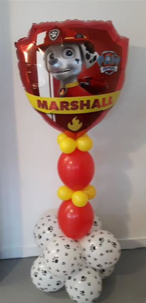 Paw Patrol Marshall Balloon Stand Up