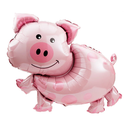 Pig Shape 35 inch Foil Balloons