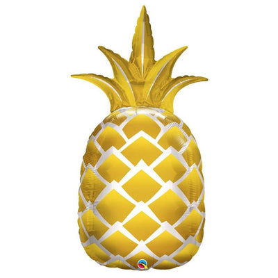 Pineapple Golden 44 inches Shape Foil Balloons