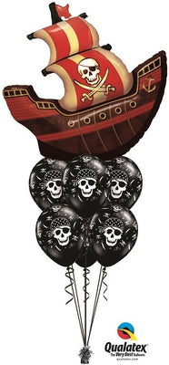 Pirate Ship Balloon Bouquet 3