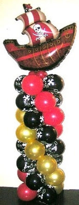 Pirate Ship Balloon Column 1