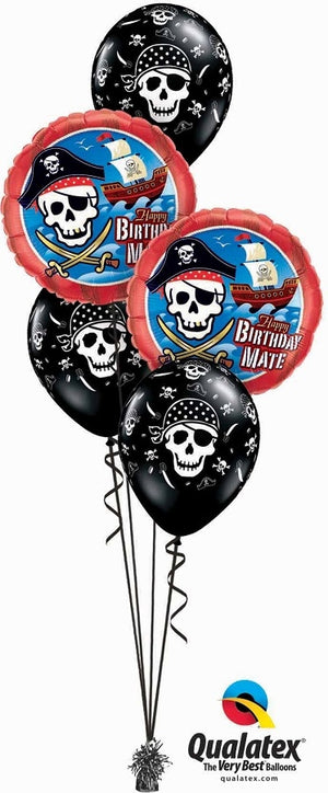 Pirate Birthday Party Balloon Bouquet 4