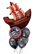 Pirate Ship Birthday Party Balloon Bouquet 5