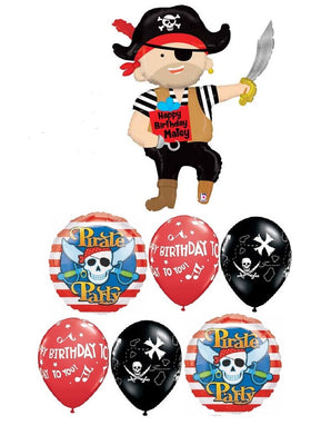 Pirate Birthday Party Balloon Bouquet 7