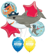 Sea Creatures Shark Pirate Birthday Balloon Bouquet 2