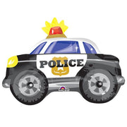 Police Car 24 inch Foil Balloon