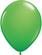 11 inch Spring Green Helium Balloon (Hi-Float)