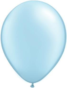 11 inch Pearl Light Blue Helium Balloon (Hi-Float 3 Days)