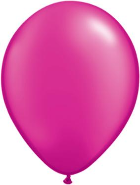 11 inch Pearl Magenta Helium Balloon (Hi-Float 3 Days)