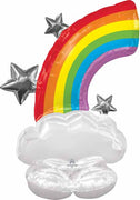 Rainbow 52 inch AirLoonz Balloon Air Filled Only