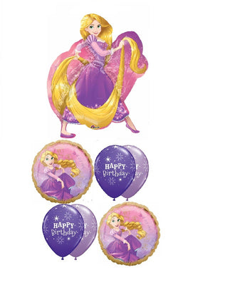 Rapunzel Once Upon A Time Birthday Balloon Bouquet