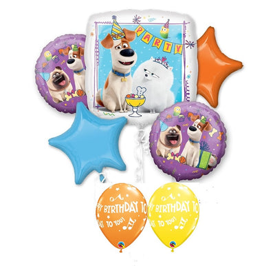 Secret Life of Pets Birthday Balloon Bouquet 3