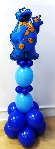 Sesame Street Cookie Monster Balloon Stand Up 3