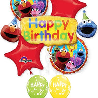 Sesame Street Birthday Balloon Bouquet 1