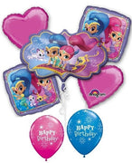 Shimmer and Shine Birthday Balloon Bouquet 1
