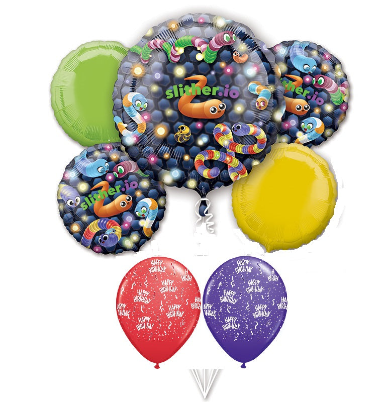 Slither.IO Balloon Bouquet